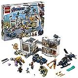 LEGO Marvel Super Heroes - Le QG des Avengers est pris d'assaut  - Jeu de construction -  76131