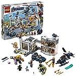 LEGO SuperHeroes Marvel Avengers SaladelleArmaturediIronMan, Playset Laboratorio Modulare con 6 Minifigure dell'Universo Marvel, 76125  LEGO