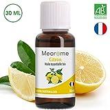 Huile Essentielle de citron BIO Mearome - 30 ml -...