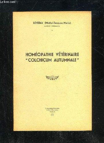HOMEOPATHIE VETERINAIRE