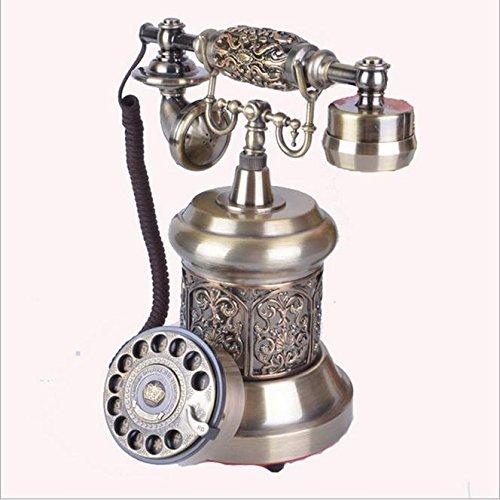 Preisvergleich Produktbild PENG Antike Telefone wählen Europäisches Retro-Mode-Büro zu Hause Festnetz-Telefon altes Telefon