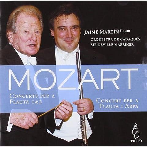 Mozart : Conciertos Para Flauta Y Flauta & Arpa ; Martin, Orquesta De Cadaqués - Marriner