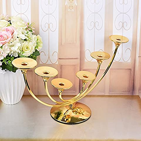 MMMM-Fashion European style hotel table Candle wedding candle holders decorative ornaments model 10,61*19*32