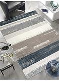 ESPRIT Dreaming Moderner Markenteppich, Polypropylen, Petrol, 170 x 120 x 1.3 cm