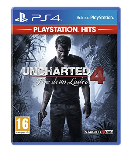 Foto Uncharted 4: Fine Di Un Ladro (Ps Hits) - Classics - PlayStation 4