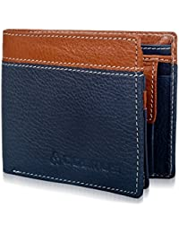 ae6ec044c58a Genuine Leather Wallet for Men - Cosmus 100% Original Pure Leather Wallet - Stylish  Gents
