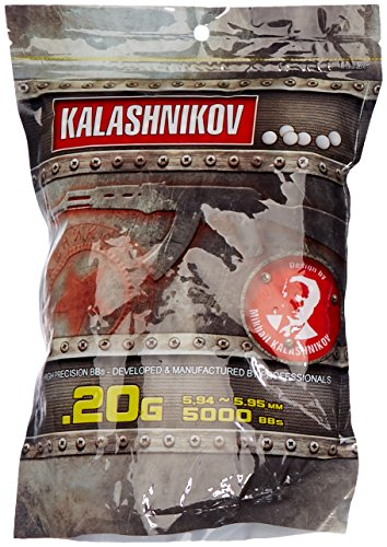 Kalashnikov Bolas de pistola BBS 0.20gr 1kg / 5000bbs
