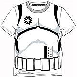Disney Star Wars Stormtrooper T Shirt Childrens Kids Top Official Size 2-7 Yrs