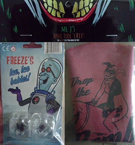 Mr J's April Fool's Kit! Freeze's Ice, Ice Babies & Harley Quinn Whoopee Cushion by NB (Harley Quinn Baby)