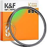 K&F Concept Filtre UV MC Filtre de Protection Ø58mm Multi-Couches avec Revêtement Bleu pour Objectif Appareil Photo Canon Nik