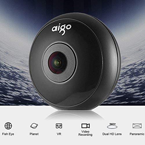 Cámara 360, Aigo Cámara VR 360 Con Cuatro Efectos
