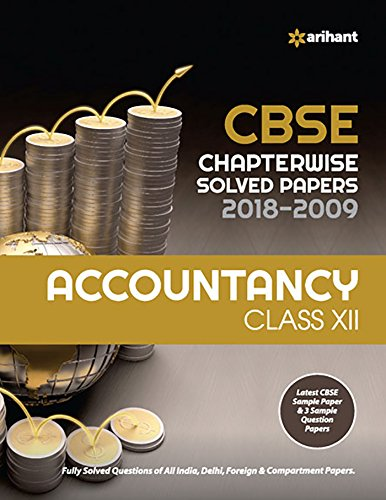 CBSE Chapterwise Solved Papers Accountancy Class 12 for 2018-2019 Image