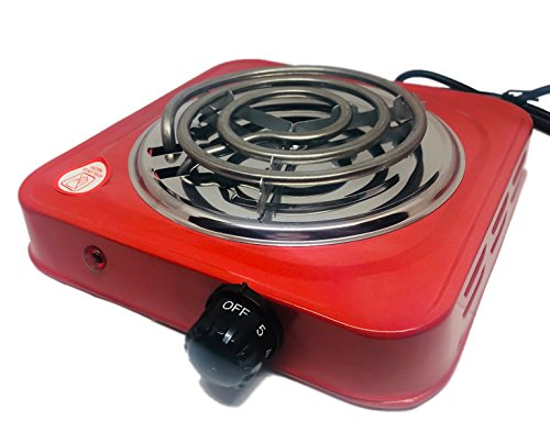 Paide H-001F Cocina ELÉCTRICA para Shisha CACHIMBA CARBÓN HORNILLO 1000W Hot Plate Electric Cooking Hornillo electrico