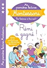 Mes premières lectures Montessori: Rémi a gagné ! par Galon