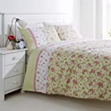 Hummingbird Annie King Bed Set (1 x King Quilt cover 230 x 220cm and 2 x Pillowcases)