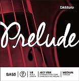 Corda singola RE D'Addario Prelude per contrabbasso, scala 1/8, tensione media