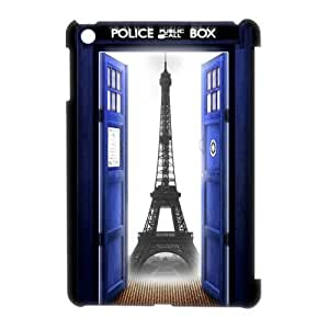 Popular Doctor Who Tardis Police Call Box Designed White Hard Case for Ipad Mini