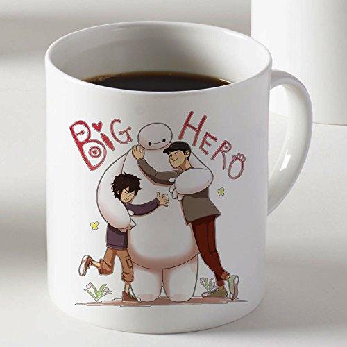 Big Hero 6 Hiro Baymax Kaffeetasse Tasse Becher Cup Mug-Farbe: zwei Seiten