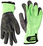 Cat Gloves Rainwear Boss Mfg Gants en tricot gants imperméables chat de Boss Mfg Medium fluorescente verte de l-tex recubiertas