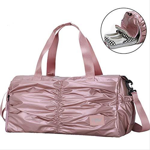 RERU Reisetasche wasserdichte Reisende Frauen große Reisetasche Unisex Taschenrosa - Rosa Camouflage-duffle Tasche