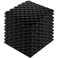 Estudio de grabación Insonorizado Cuña Espuma Sala de video Sonido Aislamiento de ruido Esponja Muro de aislamiento