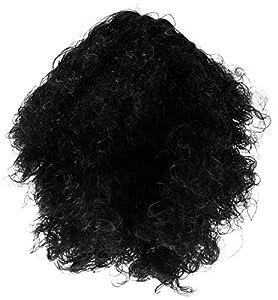 Marco Porta 407 - Heavy Metal Rocker peluca, un tamaño, negro