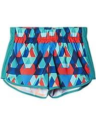 "adidas M10 Q1 Short W - Pantalón corto para mujer, color verde / rojo , talla XS3"""