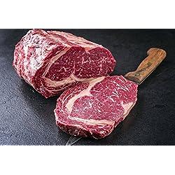 3 kg Entrecote/Ribeye am Stück vom besten Färsenfleisch, (mindestens 3 kg) zum selber schneiden, gut zum eingefrieren geeignet, das perfekte Steak (kann aus zwei Stücken bestehen)