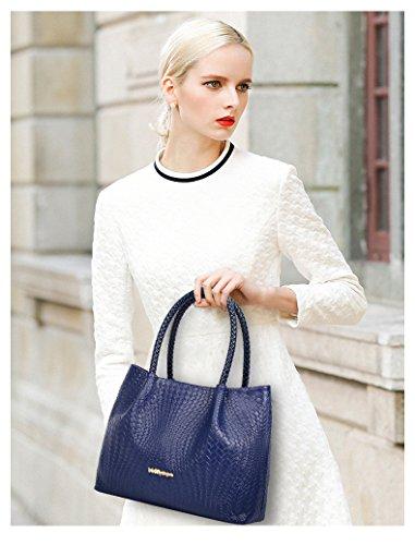 VOLSGEAT Borsa Messenger, White (bianco) - 54EC Blue