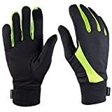 Best Running Gloves - TrailHeads Elements Running Gloves - black/hi-vis (small) Review