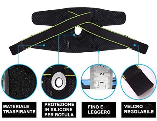 Zoom IMG-3 bangerax tutore ginocchio ginocchiera rotulea
