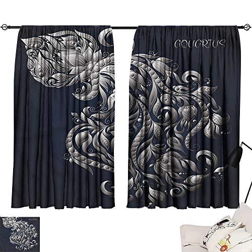 Jinguizi - Juego 2 cortinas oscurecimiento