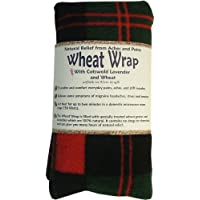 Vagabond Bags Wheat Wrap in Red and Green Check with Cotswold Lavender and Wheat preisvergleich bei billige-tabletten.eu
