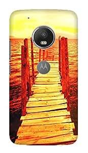 TrilMil Printed Designer Mobile Case Back Cover For Motorola Moto G5