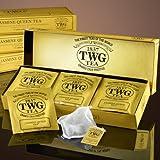 TWG Singapore - The Finest Teas of the World - JASMINE QUEEN Grüner Tee - 15 Handnaht Teebeutel aus...
