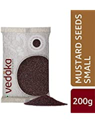 Amazon Brand - Vedaka Mustard Seeds (Rai) Small, 200g