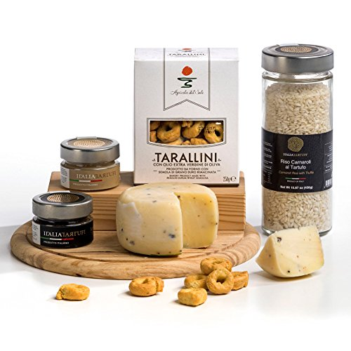 Hay Hampers Gourmet Italian Truffle Risotto Hamper Box - FREE UK delivery