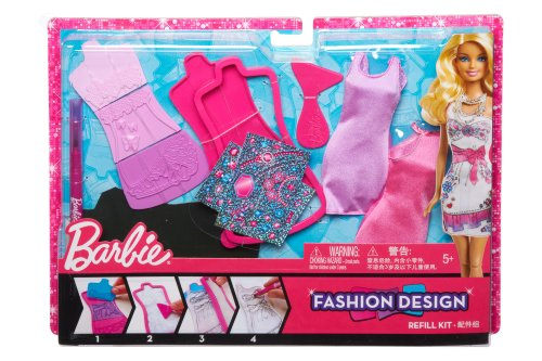 Barbie – X7894 – Puppe – Set Mode Glam für Barbie