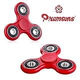 Premsons 608 Four Bearing Fidget Spinner (Red and Black)