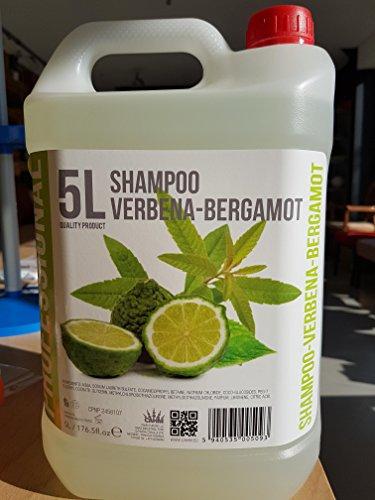 Shampoo Eisenkraut-Bergamont, 5 Liter Nachfüll Kanister