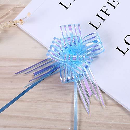 CHuangQi Geschenkschleifen, Geschenk-Schleifen, Schleifen, Geschenk-Knoten, für Floristen, Handwerk, Weihnachten, Hochzeiten, Geschenk-Dekoration