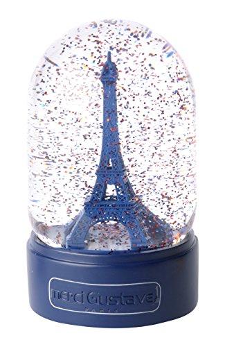 Merci Gustave DOML3103 Dôme à Rêve/Boule à Neige Magique, Résine, Paris Saint Germain, 9,8 x 9,8 x 16,5 cm