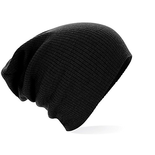 Bonnet Fashion Long Noir