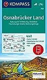 Osnabrücker Land: 4in1 Wanderkarte 1:50000 mit Aktiv Guide und Detailkarten inklusive Karte zur offline Verwendung in der KOMPASS-App. Fahrradfahren. (KOMPASS-Wanderkarten, Band 750)