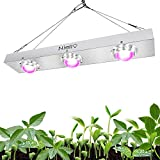Niello 600w COB LED Pflanzenlampe Full Spectrum LED Grow Light High Par and High Lumen Growing, Cooling Stronger Heat Dissipation Plant Light for Hydroponics Greenhouse Indoor Plant Veg and Flower