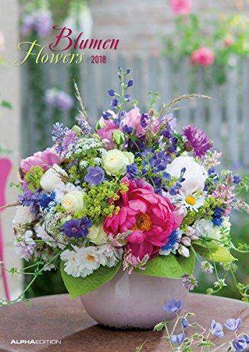 Blumen 2018 - Flowers - Bildkalender A3