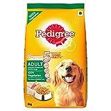 Pedigree Adult Dog Food Vegetarian, 3 kg Pack