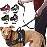 FidgetGear Hundegeschirr, kein Ziehen, für Pitbull Mastif K9 Labrador Husky