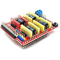 aptofun CNC V3.0expansions Shield (A4988DRV8825) for Engraving Machines, 3d Printers compatible with Arduino UNO
