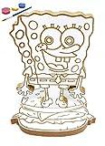 SpongeBob SquarePants - Cartoon Characters - Art Craft Set for Kids - NEW BRAND